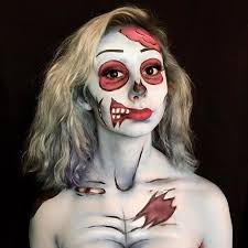 Zombie Halloween Costumes Diy Pop Art Zombie Costume Maskerix Com