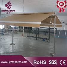 Motorhome Free Standing Awning Free Standing Motorhome Double Sided Motorized Retractable Awnings