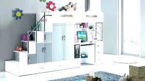 chambre fille avec lit mezzanine chambre ado lit superpose chambre enfant mezzanine lit mezzanine