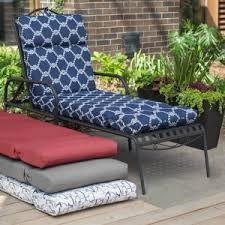 Chaise Lounge Cushion Outdoor Chaise Lounge Cushions Hayneedle