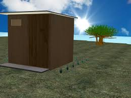 how to make an outhouse 13 steps with pictures wikihow