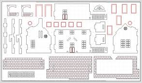free dollhouse floor plans surprising design doll house free plans 13 wooden plan nikura