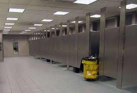 Bathroom Stall Door There Must Be A Better Way To Get Your Luggage Into The