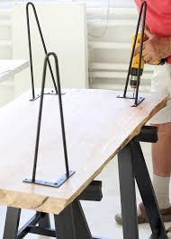 wood slab coffee table with jenni of i spy diy minwax blog
