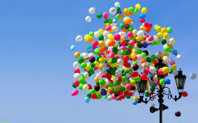colourful balloons wide desktop background high definition