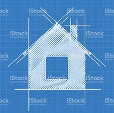 house blue print house blueprint logo stock vector art 509925718 istock