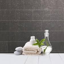brick effect wallpaper kitchen bathroom vinyl glitter textured