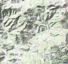 Monte Carlo Map Monte Carlo Trail 52 To Monte Cristo Mountain Biking And Hiking