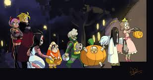 happy halloween animated images happy halloween from ileum and friends by oh8 on deviantart
