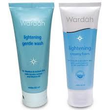 Pembersih Muka Wardah Lightening wardah lightening series foam gentle wash 60ml elevenia