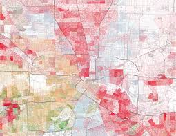 Dallas Suburbs Map by Maps Show Visible Racial Divides In Major Texas Cities Houston