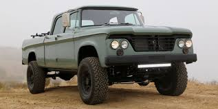 dodge truck power wagon the dodge power wagon from icon is so it s magnificent
