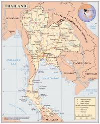 Michigan Map With Cities by Maps Of Thailand Detailed Map Of Thailand In English Tourist