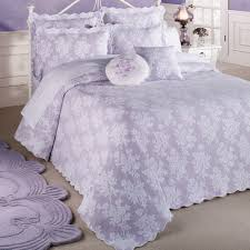 Purple Coverlets Bedroom Old Fashioned Styles Of Vintage Chenille Bedspreads