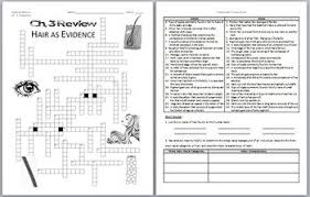 forensic science hair as evidence review worksheet and answer key