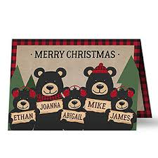 personalized christmas cards personalizationmall com