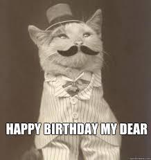 Cat Happy Birthday Meme - business cat happy birthday original business cat happy