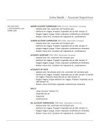 Free Online Resume Creator by Online Resume Format