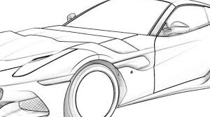 ferrari sketch is this the ferrari f12 spider