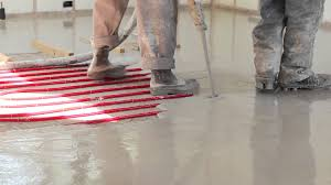 infloor radiant floor heating installed by bobcat sun bend
