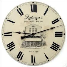 Personalized Anniversary Clock Custom Business Wall Clocks John Borin Personalized Clocks