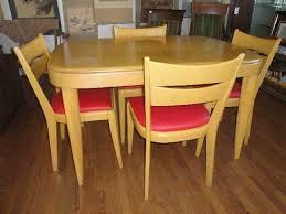 mid century heywood wakefield dining set