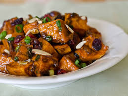 roasted sweet potato salad with chutney vinaigrette recipe