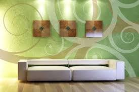wandgestaltung in grün bewegte wände bild 14 living at home