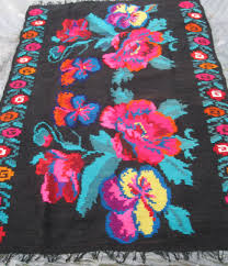 Cotton Wool Rugs Beautiful Antique Traditional Romanian Woven Wool Carpet Rug