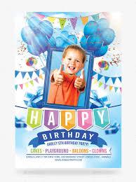 boy birthday kids birthday invitation templates 31 free psd vector eps ai