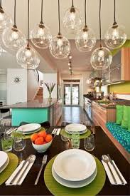 Pendant Lighting Dining Room Pretty Blown Glass For Coastal Home C O A S T A L Pinterest