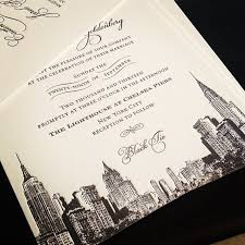 wedding invitations new york wedding invitation nyc amulette jewelry