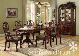 Dining Room Sets With China Cabinet Formal Dining Room Sets For 6