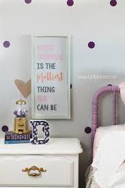 little girl room decor little girl purple gold bedroom makeover lolly jane