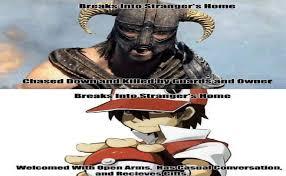Pokemon Logic Meme - pokemon logic is better than skyrim logic by keyblademagicdan on
