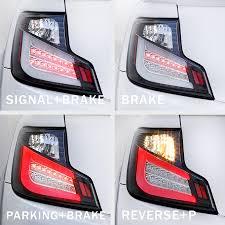 spec d tail lights 2011 2013 scion tc euro style led tail lights smoked