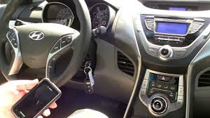 2013 hyundai elantra limited bluetooth sync video winston