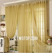living room cheap casual best discount desert gold sheer curtains