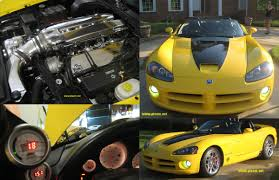 2005 dodge viper supercharged vca special edition dyno sheet