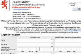 bureau d imposition luxembourg z woher bekomme ich meine lohnsteuerkarte diegrenzgaenger