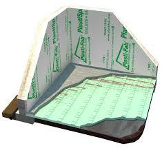 Basement Floor Insulation Radiant Floor Heating Using Plastispan Hd Insulation Plasti Fab