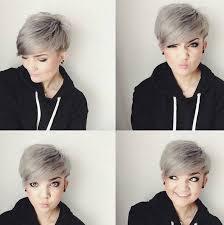 what enhances grey hair round the face best 25 pixie cut for round faces ideas on pinterest pixie cut