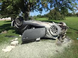 schneider man hurt in serious car wreck crime and courts