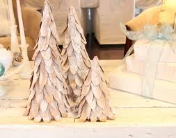 cardboard christmas tree tutorial u2026