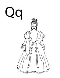 Coloring Pages Letter Q Coloring Pages Q