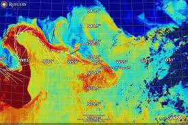 Rutgers Map Rutgers Glider Flies Along Gulf Stream On Transatlantic Voyage