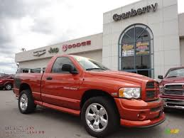 Dodge Ram Daytona - 2005 dodge ram 1500 slt daytona regular cab 4x4 in go mango