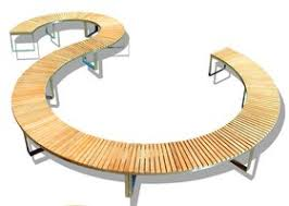 Curved Outdoor Benches Boston Teak Curved Bench Outdoor More At Www Myurbangarden U2026 Flickr