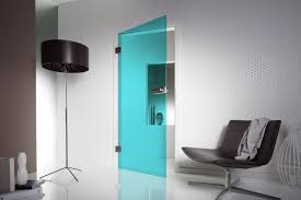 Cheap Interior Glass Doors by Sliding Frosted Glass Door With White Wooden Frame Of Fascinating