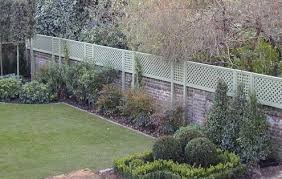 the garden trellis company could be cool to do a small brick